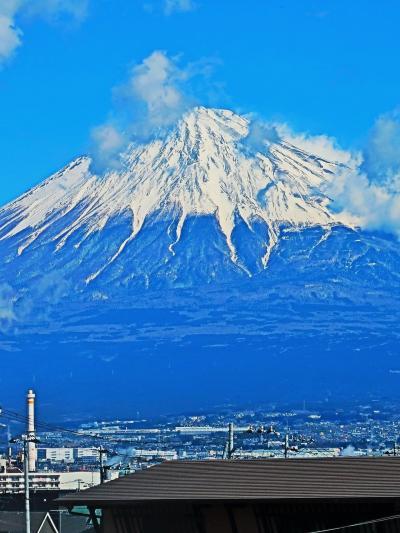 東京8:56⇒静岡 こだま641号G車で 富士山の雄姿-眺め ☆ミステリーツアーは何処へ?