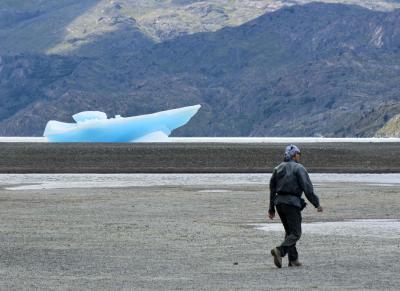 蒼き氷河のパタゴニアと雨季のウユニ塩湖  5日目 パイネ国立公園 グレイ氷河編
