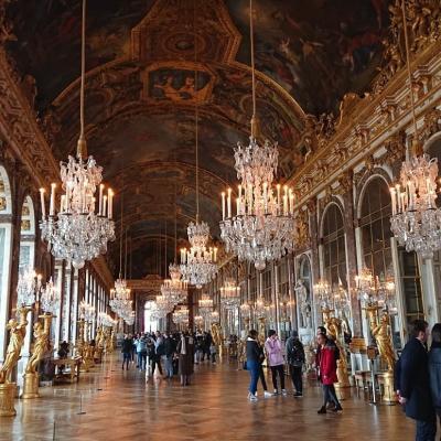 フランス・パリ②『ベルサイユ宮殿 ルーブル美術館 パリ・セーヌ川クルーズ』