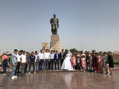 中央アジア2019 13 ティムールの故郷、シャフリサーブズ