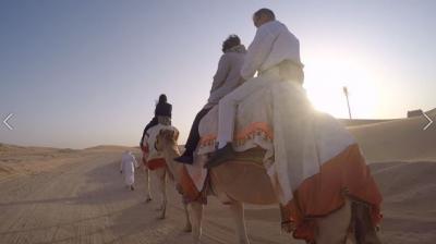アラビアンナイトの世界 70代両親連れて港町マスカットとアブダビ砂漠&近未来都市ドバイ