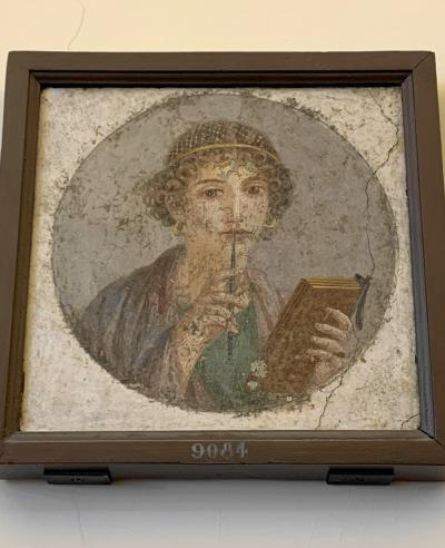 国立考古学博物館:ポンペイ遺跡の感動が更に深まりました+ヴォメロの丘