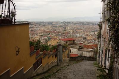 ヨーロッパ・クルーズとバックパックの旅(その6クルーズ船イタリア・ナポリ港に到着&観光)