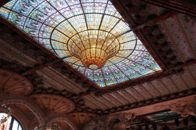 年末年始はリスボン&バルセロナへ<11>ゴシック地区散策&カタルーニャ音楽堂のツアーに参加!編