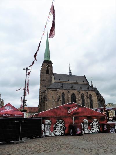ウイーンから中欧、バルト海を駆け抜けた58日間☆彡 38日目 ・・プルゼニュ、期せずしてビール祭りの真最中・・