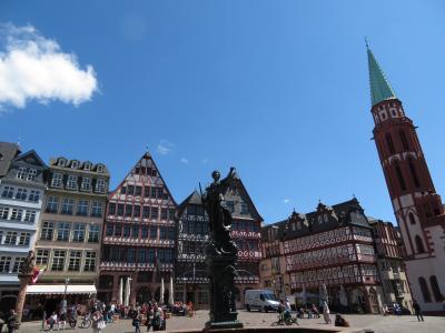 心の安らぎ旅行(2019年春 Frankfurt フランクフルト Part2 Romerplatz レーマー広場♪)