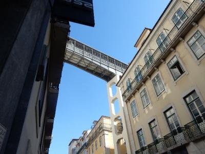 見所の多いリスボン  ② 国立古美術館 サンタ・ジュスタのエレベーター