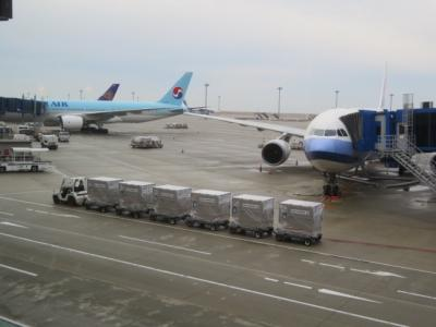 中部国際空港セントレアに東横イン中部国際空港2に宿泊して行きました