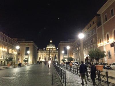 ローマ滞在 オプショナルツアーでバチカン市国