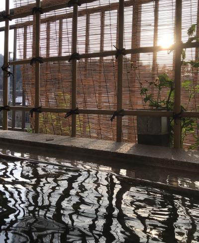 春休みの北陸親子旅3泊4日☆⑨旅の終わりは露天風呂付でまったりしたい!!山中温泉翠明(o^^o)