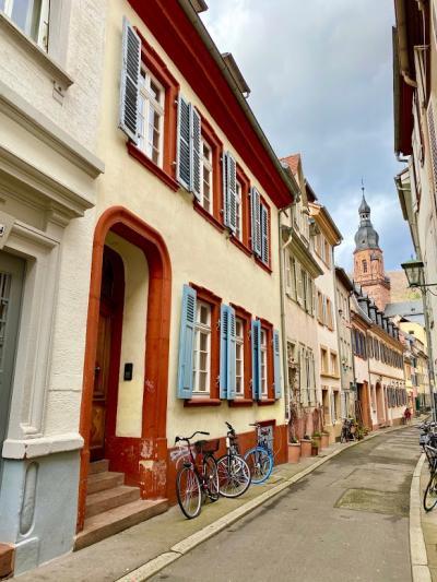 路地裏が可愛い街ハイデルベルク