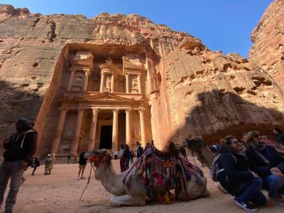 何の知識も持たずの秘境イスラエル・ペトラ遺跡・死海8日間の旅 ②ペトラ遺跡