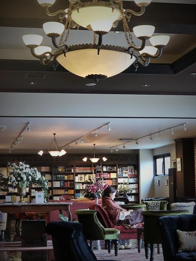 茅野/蓼科-4 親湯温泉 「みすず Lounge & Bar」☆読書三昧に最適-贅沢な空間/時間