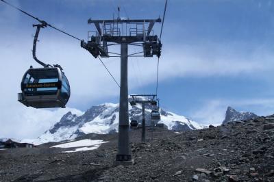 アルプス5大名峰と絶景列車の旅 13 ツェルマットからクラインマッターホルンへ その①