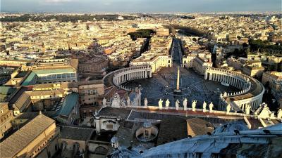 コロナ騒動直前のイタリア旅(1)----バチカン市国