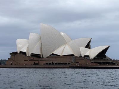 往復ANA夜行便でシドニーとブリスベン3泊6日① ~オペラハウスにご対面~