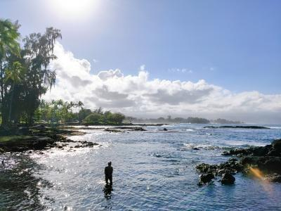 Mother-Daughter Trip to Hawaii ⑦いよいよ帰国 朝のカイルアコナ