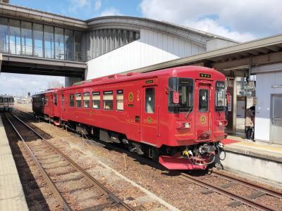 長良川鉄道のクルーズ列車にのる