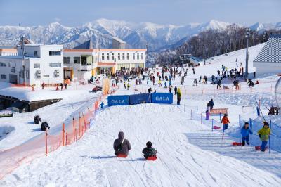 ガーラ湯沢で日帰り雪遊び♪~子連れ3ファミリー旅行~