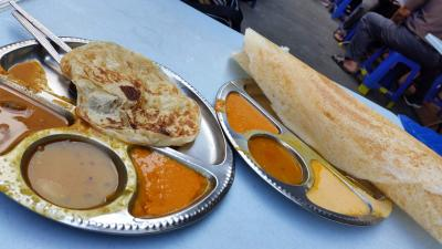 インド人街でシャバシャバカレーを食す~クアラルンプール~