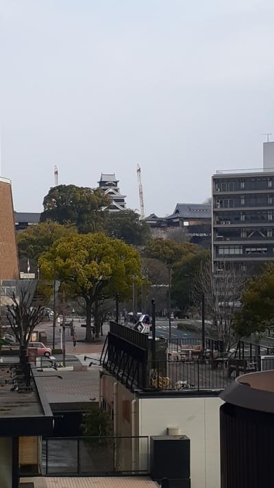 博多発 九州新幹線で行く日帰り?ワンデー熊本&鹿児島(前編(熊本編))