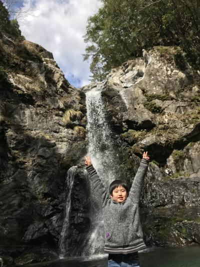 家族旅行 日帰り2020年2月(長男11歳、次男9歳)上湯温泉、湯の峰温泉、わたらせ温泉①