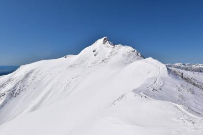 冬の武尊山 雪山登山(JRびゅうスキーツアーパック利用)
