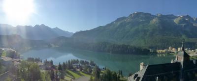 スイス 鉄道の旅17日間(9)サンモリッツ ピッツネイル