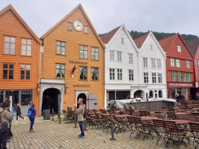 「アナ雪の舞台」ブリッゲン地区&フィッシュマーケット*北欧の旅inノルウェー
