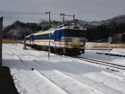 冬の只見線・国鉄型キハに乗りに行った【その1】 小出から1日3往復の列車で只見へ