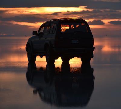 蒼き氷河のパタゴニアと雨季のウユニ塩湖  9日目 ウユニ塩湖 満喫 編