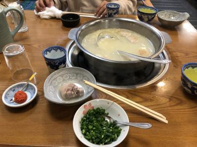 こんな時期だからやっと水炊きの「長野」に来られました