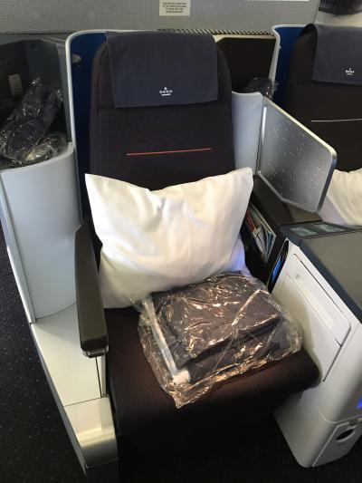 KLMオランダ航空ビジネスクラス搭乗記(成田~アムステルダム)