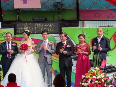 【個人記録】従兄弟の子供の結婚式 林園 2020/02/09