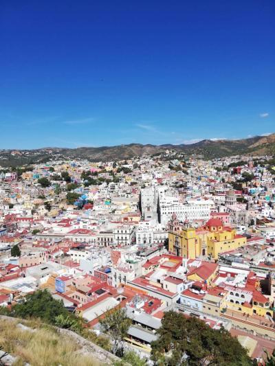 世界遺産の街、グアナファト
