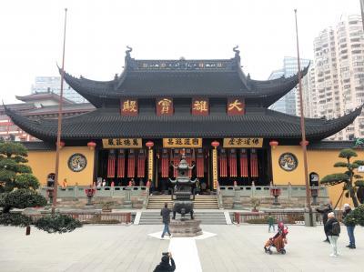 南中欧等5カ国旅行7日目昼下がり(上海観光)