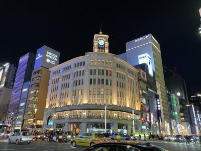 2020年1月 会社帰りの東京の夜景 - 銀座・有楽町・日比谷・池袋
