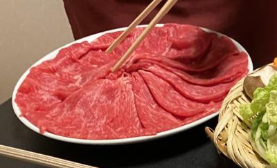 名古屋の老舗肉屋の丸小本店のしゃぶしゃぶディナー2回目