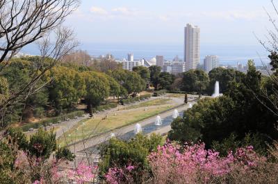 須磨離宮公園 須磨海浜公園へ