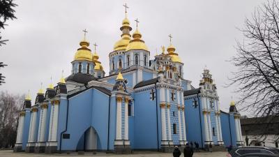 ヨーロッパ還暦の旅 その3(ウクライナ・キエフ)