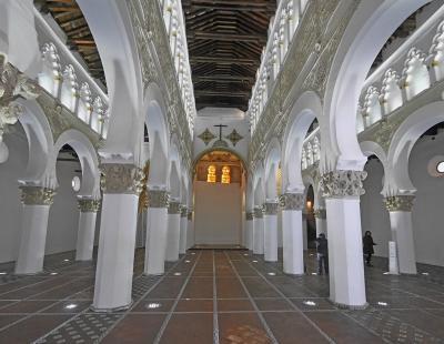 2019.12今年の年越しもスペインアンダルシア旅行24-サンタ・マリア・ブランカ教会,セファルディ博物館(Transito教会)