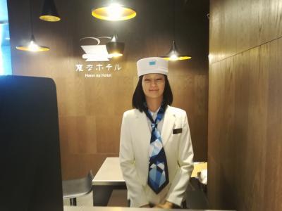 先週に引き続き仕事帰りに急遽ホテルに泊まってみた『変なホテル銀座』