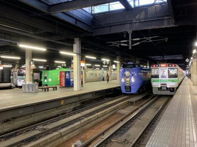 朝観光(自由研究) 札幌運転所からの列車