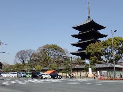 東寺の縁日と西寺