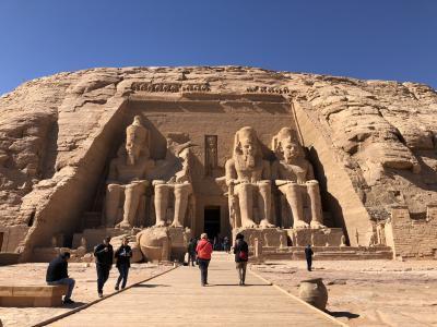 エジプト アブシンベル