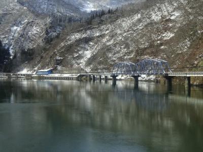 冬の只見線・国鉄型キハに乗りに行った【その2】 只見の町中を散策 代行バスで会津川口に向かう