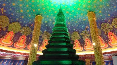 タイ バンコク① 2020 ワット・パクナム 早朝から観光する
