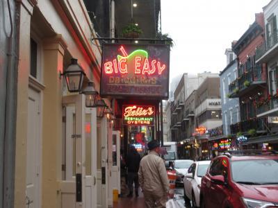 Ritz -Carton Hotel での ニューオリンズ最後の夜を愉しむ