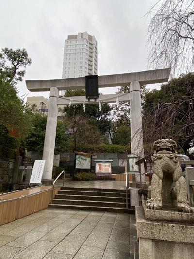2020年1月 雨の乃木神社