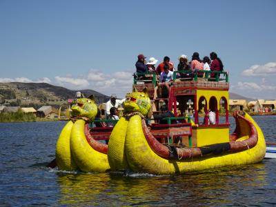 ◆ペルー 女ひとり旅◆⑦プーノ:チチカカ湖ウロス島とタキーレ島1dayツアー